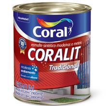 Esmalte Sintético Coralit Tradicional Brilhante Azul Del Rey 900ml