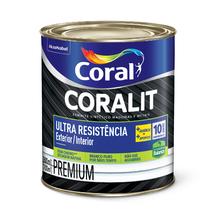 Esmalte Sintético Coralit Ultra Resist Preto 2,4L Coral