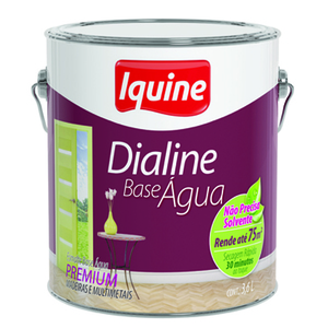 Esmalte Sintético Dialine Acetinado Branco Neve 3,6L