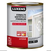 Esmalte Sintético Fosco Preto 0,9L Luxens