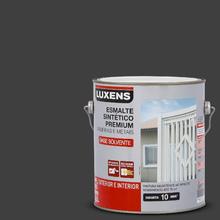 Esmalte Sintético Fosco Preto 3,6L Luxens