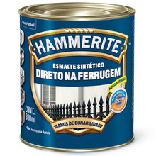 Esmalte Sintético Hammerite Brilhante Cinza 800ml