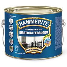 Esmalte Sintético Hammerite Brilhante Marrom 2,4L