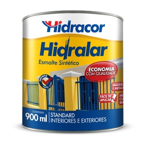 Esmalte Sintético Hidralar Azul Del Rey 900ml Hidracor