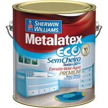 Esmalte Sintético Metalatex Eco Esmalte Acetinado Branco 3,6L