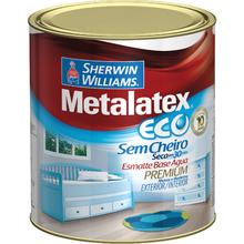 Esmalte Sintético Metalatex Eco Esmalte Brilhante Platina 900ml
