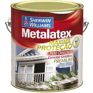 Esmalte Sintético Metalatex Esmalte Brilhante Branco Gelo 3,6L