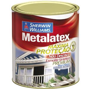 Esmalte Sintético Metalatex Esmalte Brilhante Platina 900ml