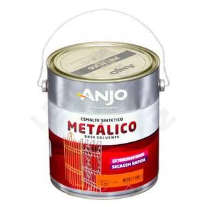 Esmalte Sintético Metálico Plus Brilhante Amarelo Ouro 3,6L