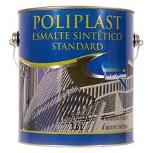 Esmalte Sintético Poliplast Standard Brilhante Branco 3,6L