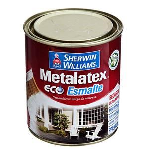 Esmalte Sintético Premium Sherwin Williams Metalatex Eco Esmalte Água Acetinado 0,9L