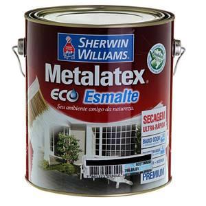 Esmalte Sintético Premium Sherwin Williams Metalatex Eco Esmalte Água Acetinado 3,6L