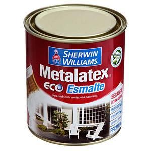 Esmalte Sintético Premium Sherwin Williams Metalatex Eco Esmalte Água Brilhante 0,9L