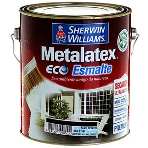 Esmalte Sintético Premium Sherwin Williams Metalatex Eco Esmalte Água Brilhante 3,6L