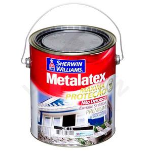 Esmalte Sintético Premium Sherwin Williams Metalatex Esmalte Solvente Brilhante 3,6L