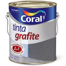 Esmalte Sintético Tinta Grafite Fosco Grafite Claro 3,6L
