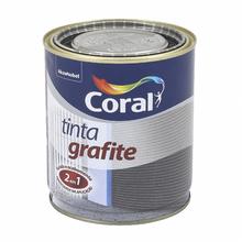 Esmalte Sintético Tinta Grafite Fosco Grafite Claro 900ml