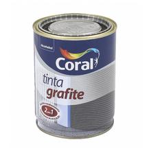 Esmalte Sintético Tinta Grafite Fosco Grafite Escuro 900ml