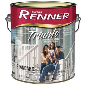 Esmalte Sintético Triunfo Branco Acetinado Renner 3,6L