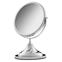 Espelheira ABS Cromado 21cm Crysbell