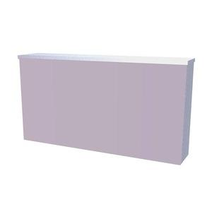 Espelheira de Banheiro Branca 43x80cm Titan