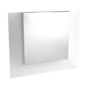 Espelheira de Banheiro Com Luminária Cromada Espelho e Ba