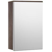 Espelheira de Banheiro Fly 60x43x13cm Amêndoa Fabribam