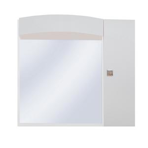 Espelheira de Banheiro Luxor 61x57x23cm Branco Sicmol