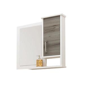 Espelheira de Banheiro Sem Luminária Noce 60x58cm Mezzaroba