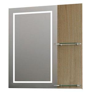 Espelheira de Banheiro Com Luminária Noce 64,1x60x18,5cm Gaam