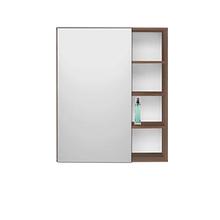 Espelheira de Banheiro sem Luminária Nogal 65x77x14cm Lótus/Vogue Fabribam