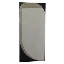 Espelheira de Banheiro sem Luminária Preto 100x45x2cm Marsala Mazzu