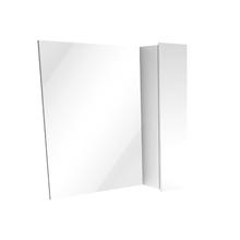 Espelheira de Banheiro Rennes 55x60cm Branco Laca Venturi