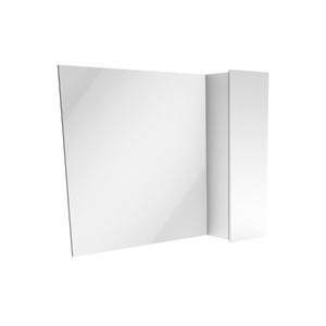 Espelheira de Banheiro Rennes 55x80cm Branco Laca Venturi