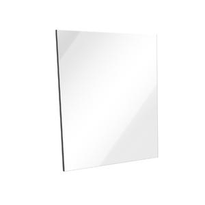 Espelheira de Banheiro Sisco 55x45cm Branco Laca Venturi