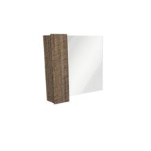 Espelheira de Banheiro Sisco 55x80cm Antique Wood Venturi