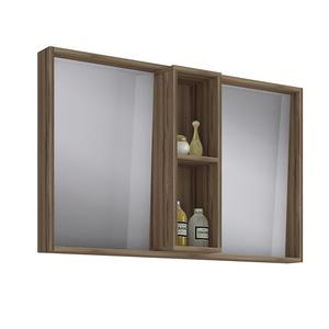 Espelheira de Banheiro sem Luminária Terracota 62x100x12cm Sonora Darabas Agardi