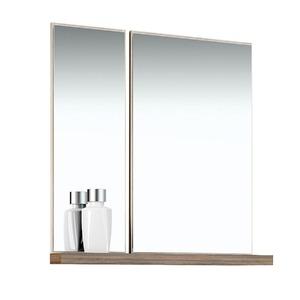 Espelheira de Banheiro Sem Luminária Tirol/Ameixa 75x80cm Mezzaroba