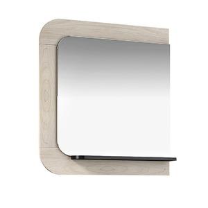 Espelheira de Banheiro Sem Luminária Tirol/Preto 65x75cm Mezzaroba