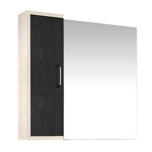 Espelheira de Banheiro Sem Luminária Tirol/Preto 75x120cm Mezzaroba