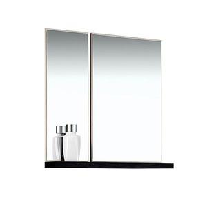 Espelheira de Banheiro Sem Luminária Tirol/Preto 75x80cm Mezzaroba