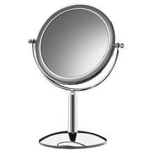 Espelheira Latão Cromado 14,5cm Crysbell