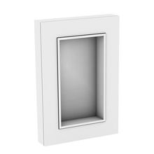 Espelheira para Banheiro Da Vinci 87x60x13cm Branco  Darabas Agardi