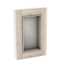 Espelheira para Banheiro Da Vinci 87x60x13cm Mezzo Blanco Darabas Agardi