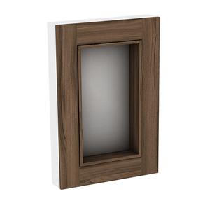 Espelheira para Banheiro Da Vinci 87x60x13cm Terracota Darabas Agardi