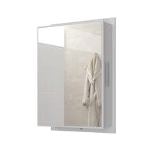 Espelheira para Banheiro Napoli 67x45x15,5cm Branco Móveis Bechara