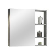 Espelheira para Banheiro Santorini 60  57x60x13,5cm Cimentício AstralDesign