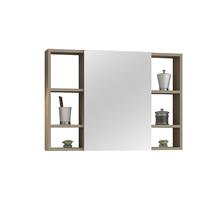 Espelheira para Banheiro Santorini 80  57x60x13,5cm Capuccino AstralDesign