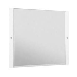 Espelheira Para Banheiro Sollo MDF Branco S/Luminária 79X65X3Cm Contemporânea Darabas