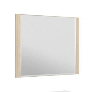 Espelheira Para Banheiro Sollo MDF Ibiza/Branco S/Luminária 79X65X3Cm Contemporânea Darabas